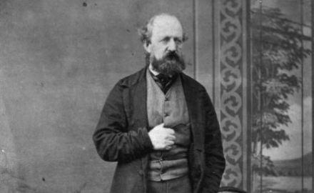 Portrait of Thomas Brunner circa 1870 (Alexander Turnbill Library)