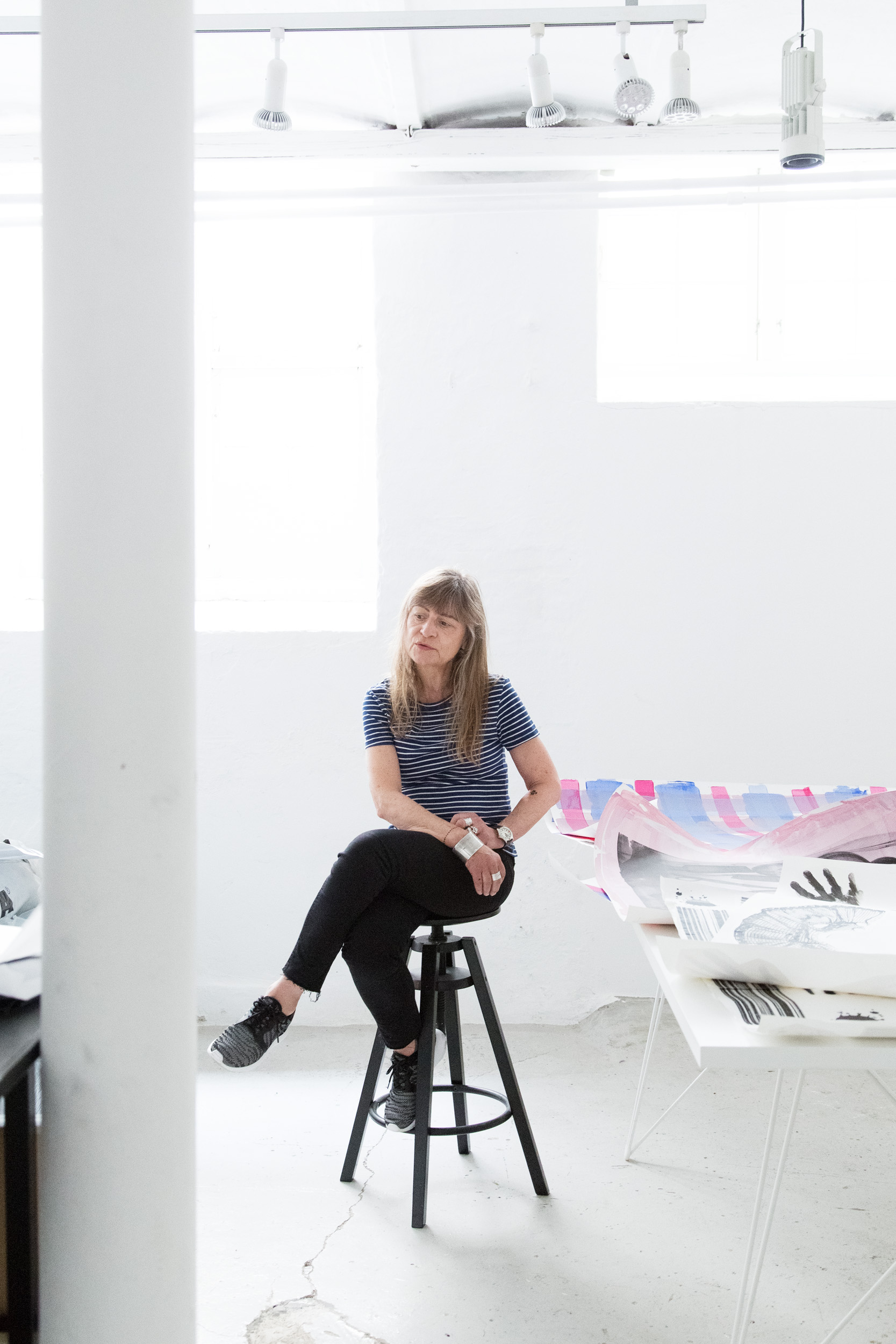 Vibeke Rohland - Photographs and interview from from studio of textile designer and artist Vibeke Rohland for The Biennial for Craft and Design.