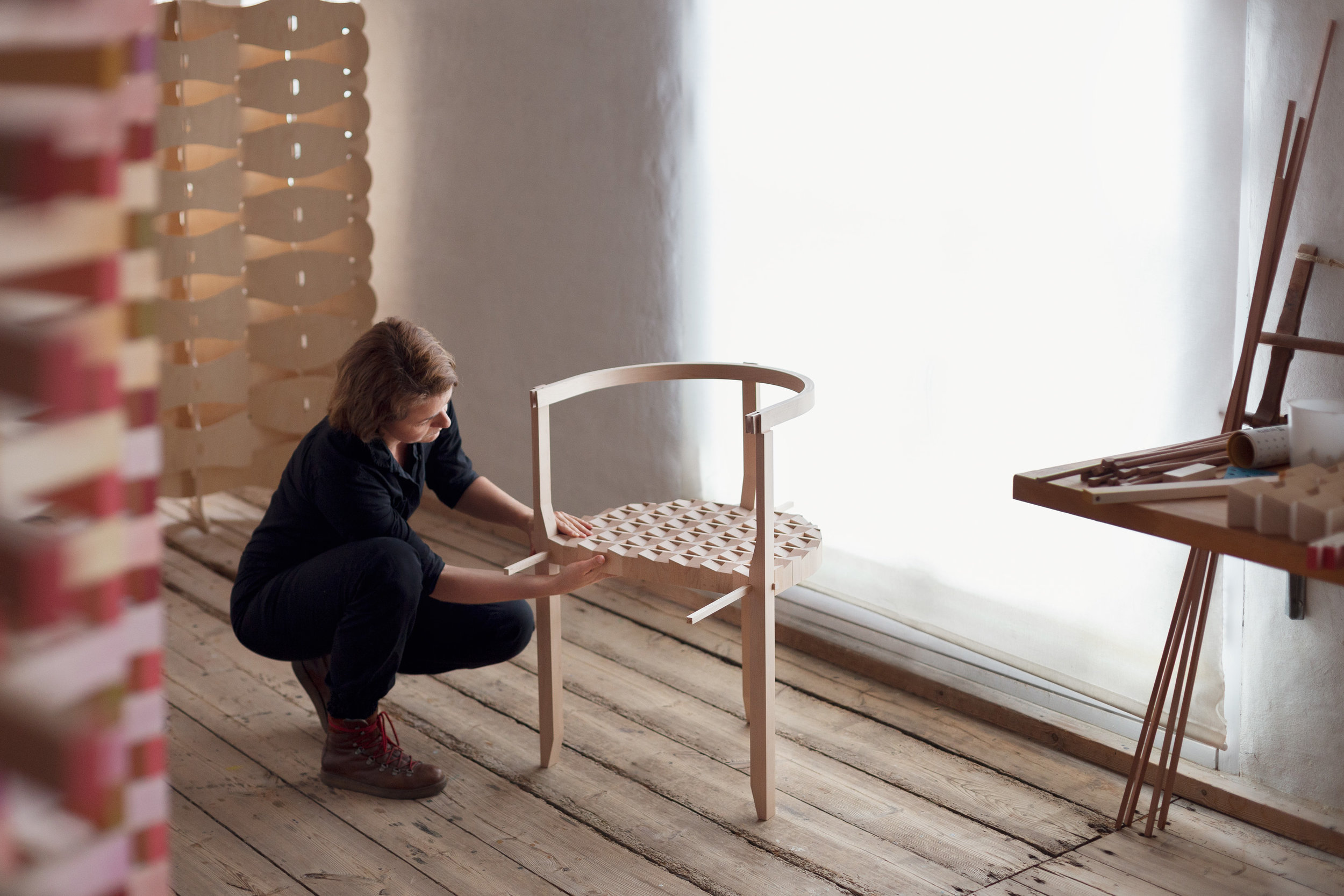 Architect Else-Rikke Bruun at The Danish Art Workshops