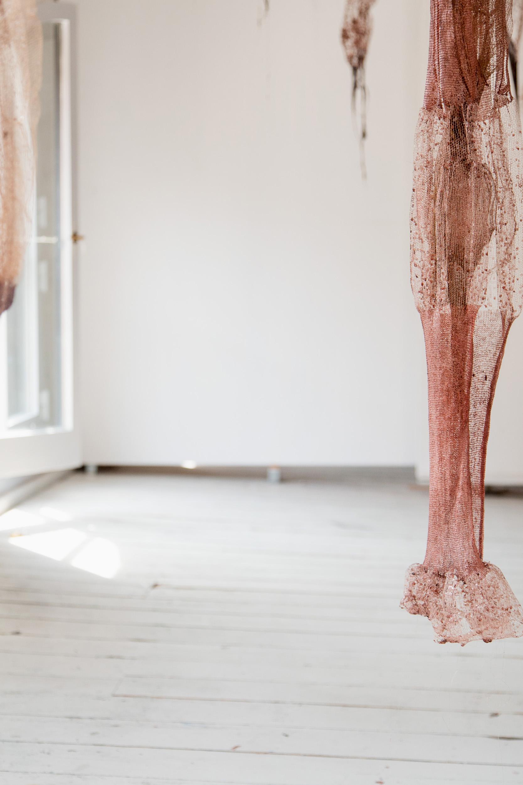 Marianne Johnstad - Process documentation for textile artist and designer Marianne Johnstad at The Danish Art Workshops.