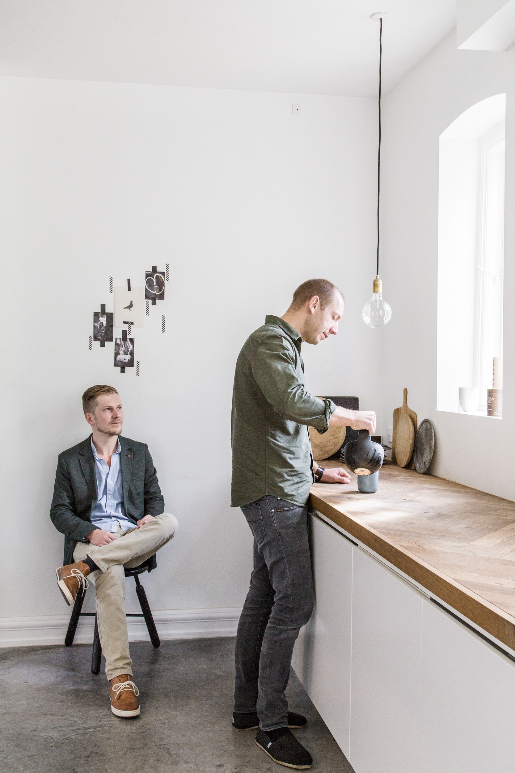 Norm Architects - Photo reportage and interview with Norm Architects for Not Today Magazine. Shot in the home of Jonas Bjerre.