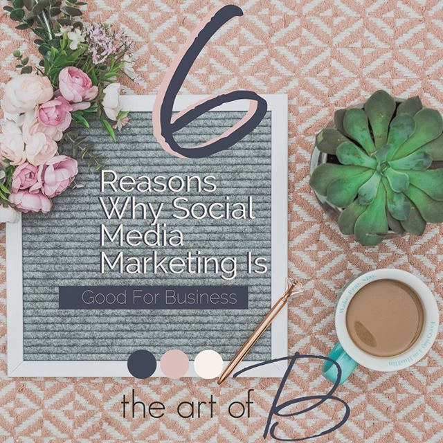 6 Reasons Why Social Media Marketing Is Good For Business⠀⠀⠀⠀⠀⠀⠀⠀⠀ 1. Increased brand awareness⠀⠀⠀⠀⠀⠀⠀⠀⠀ 2. More traffic⠀⠀⠀⠀⠀⠀⠀⠀⠀ 3. Affordable⠀⠀⠀⠀⠀⠀⠀⠀⠀ 4. Customer satisfaction⠀⠀⠀⠀⠀⠀⠀⠀⠀ 5. Brand authority⠀⠀⠀⠀⠀⠀⠀⠀⠀ 6. Insights⠀⠀⠀⠀⠀⠀⠀⠀⠀ ⠀⠀⠀⠀⠀⠀⠀⠀⠀ Want to dive in deeper? Check out what we had to say about this in our blog - link is in our bio.