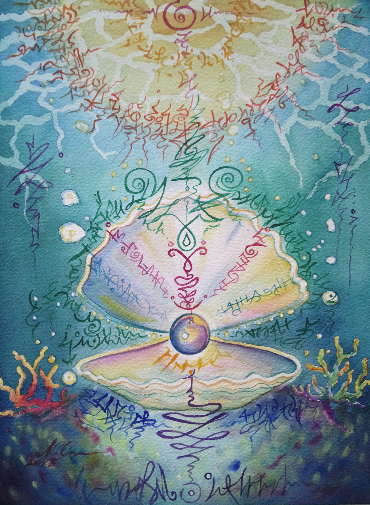 Artwork commissioned for Lalita by Nalinee Diosara. This is Lalita's soul code.