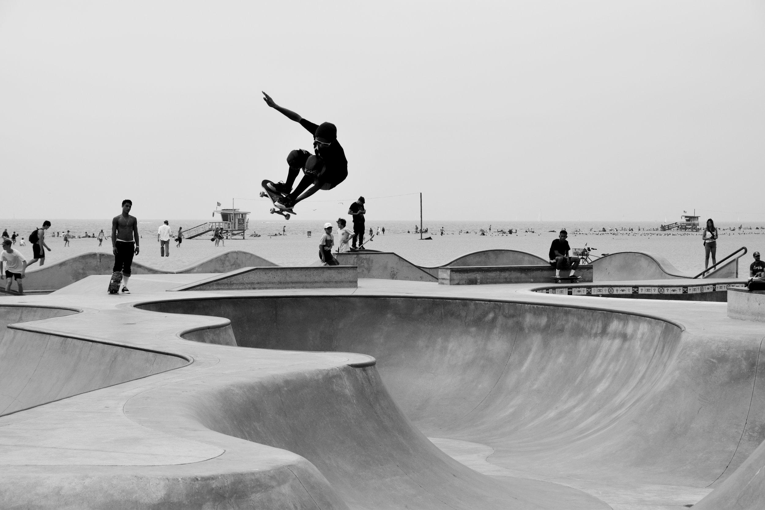 sidewalk surfing… -