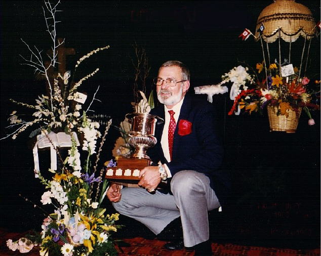 Bill, Florist of the Year, Teleflora (1980-1981)
