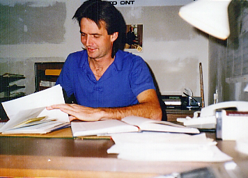 Don, looking after the details at CIFD, c. 1988