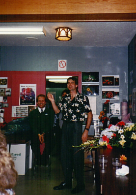 Don in the first CIFD classroom, c. 1989