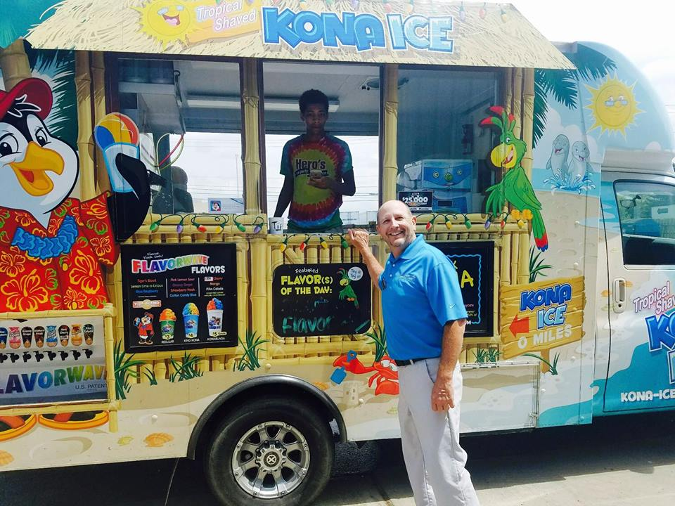 Loops Food Truck and Kona Ice will be serving up lunch and dessert on June 26th!