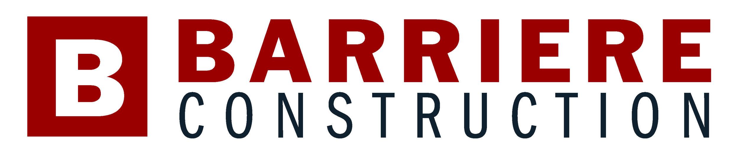 Barriere Construction Logo