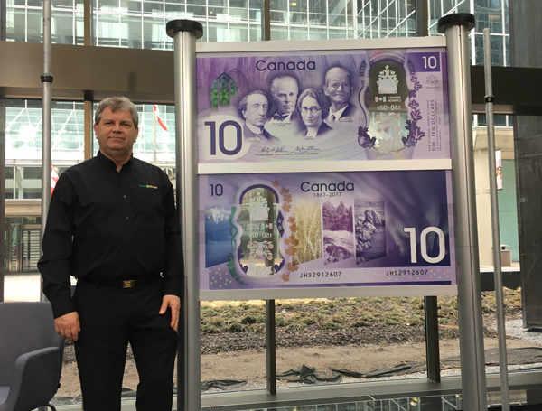 Bill Gehl Bank Note Ceremony