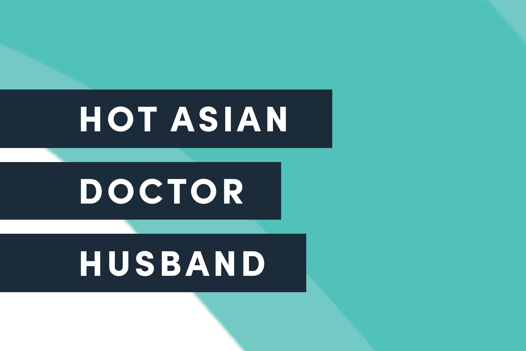 DONATE IN PERSON - At a performance of HOT ASIAN DOCTOR HUSBAND