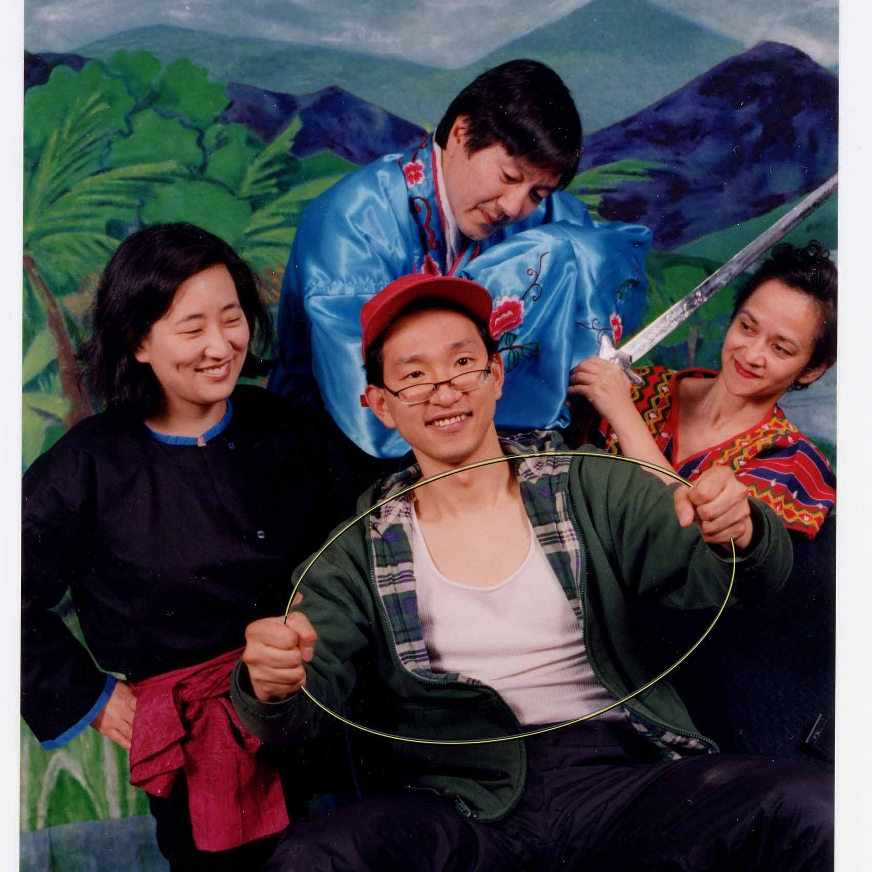 THE MAGIC BUS TO ASIAN FOLKTALES - written by R.A. Shiomi, Cha Yang, and Jaz Canlasdirected by Richard HitchierMusic by Gary Rue Musical director: Prudence JohnsonMay 2-22, 2003