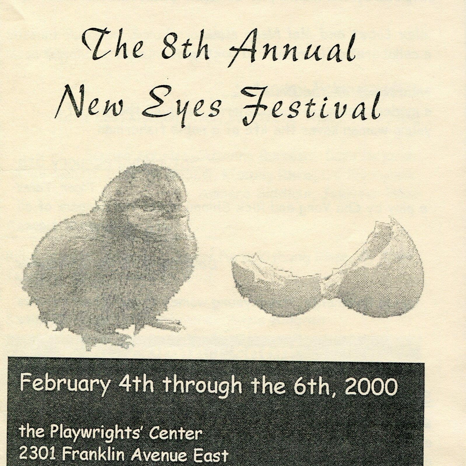 NEW EYES FESTIVAL 2000 - February 4 - 6, 2000