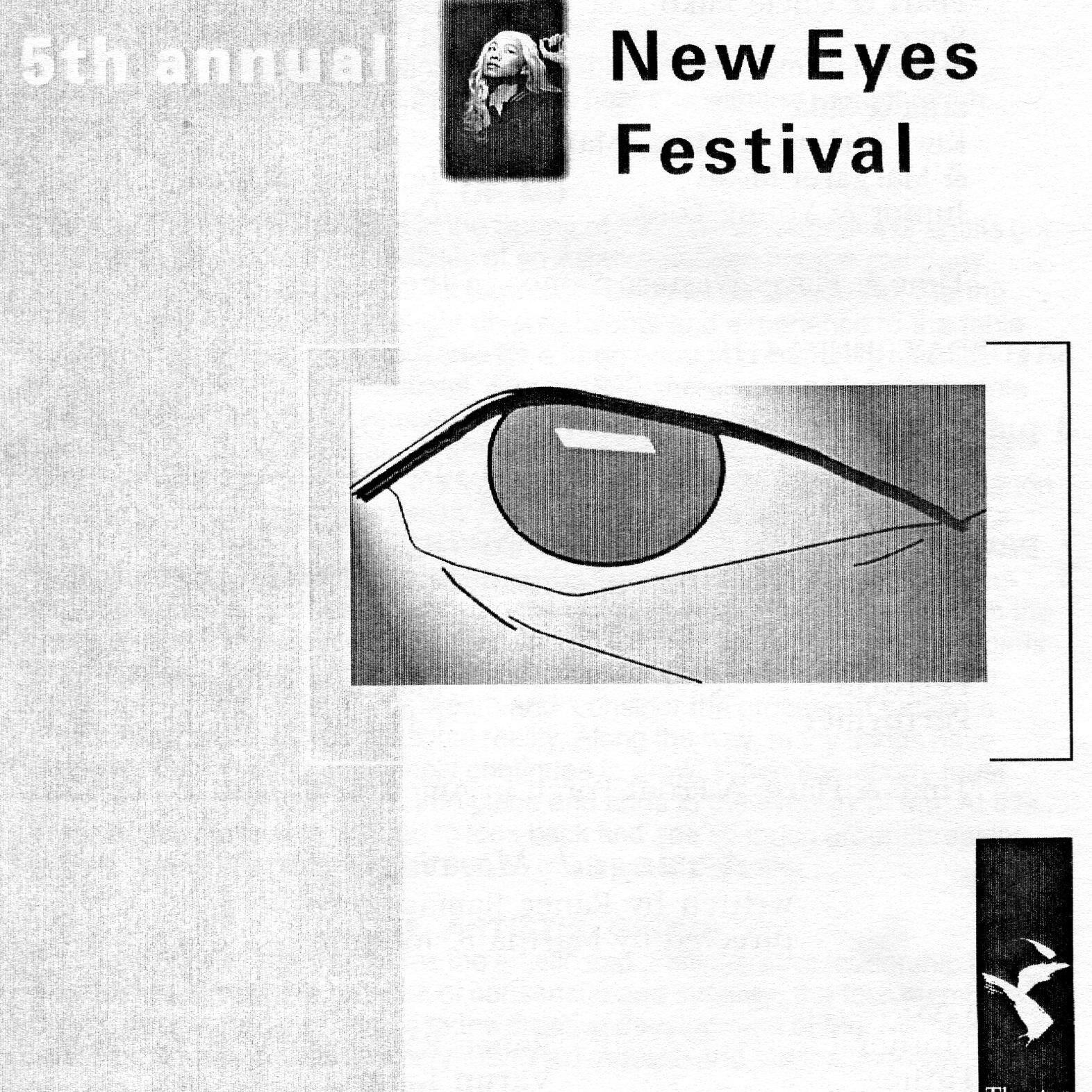 NEW EYES FESTIVAL 1997 - June 13 - 15, 1997