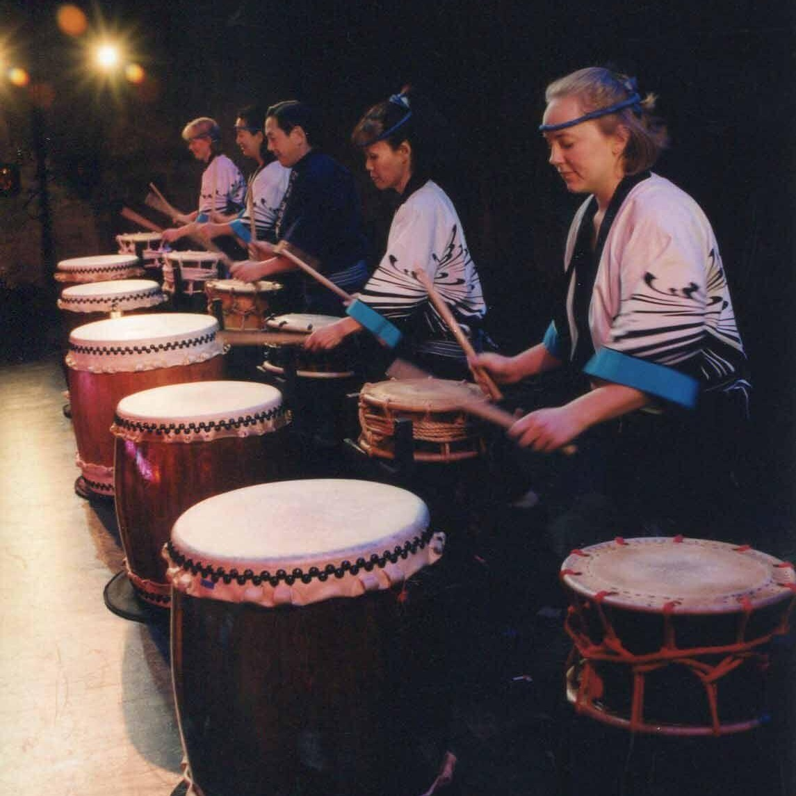 SNOW DRUMS OF MU DAIKO - Directed by RICK SHIOMINovember 22nd- December 1st, 2002