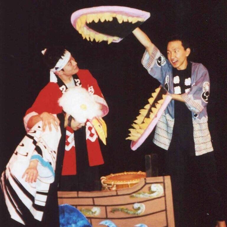TAIKO STORM OF MU DAIKO - by SARA DEJORAS directed by JENNIFER WEIR December 7 - 17, 2000