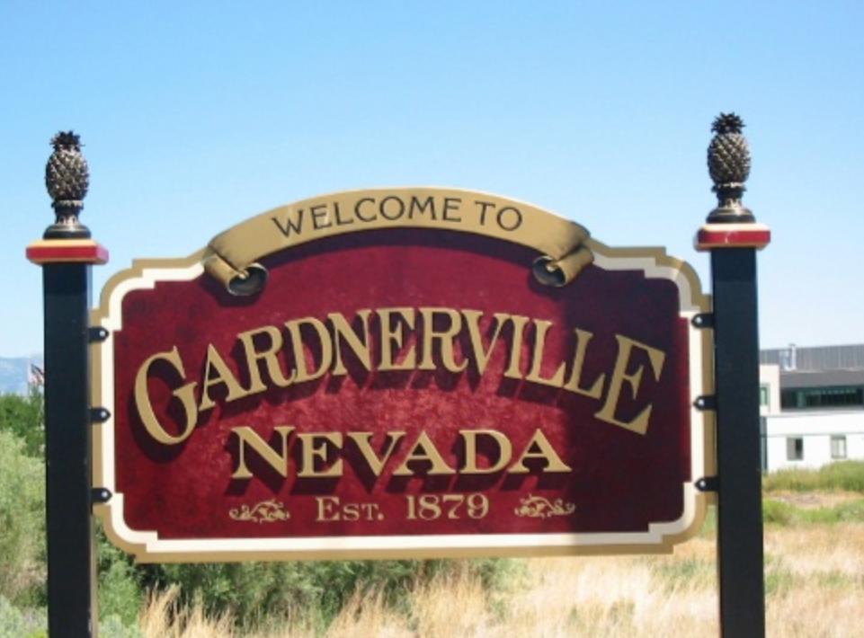 Main Street Gardnerville, Nevada