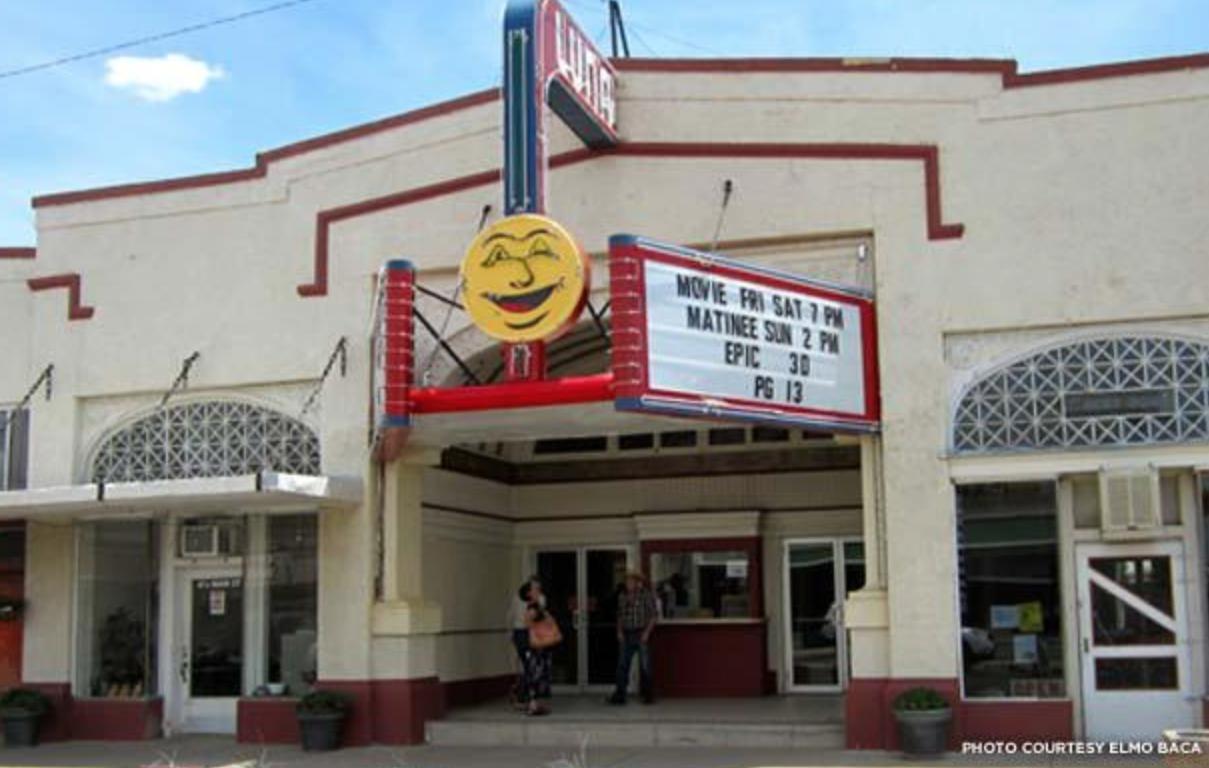 Luna Theater in Clayton, New Mexico