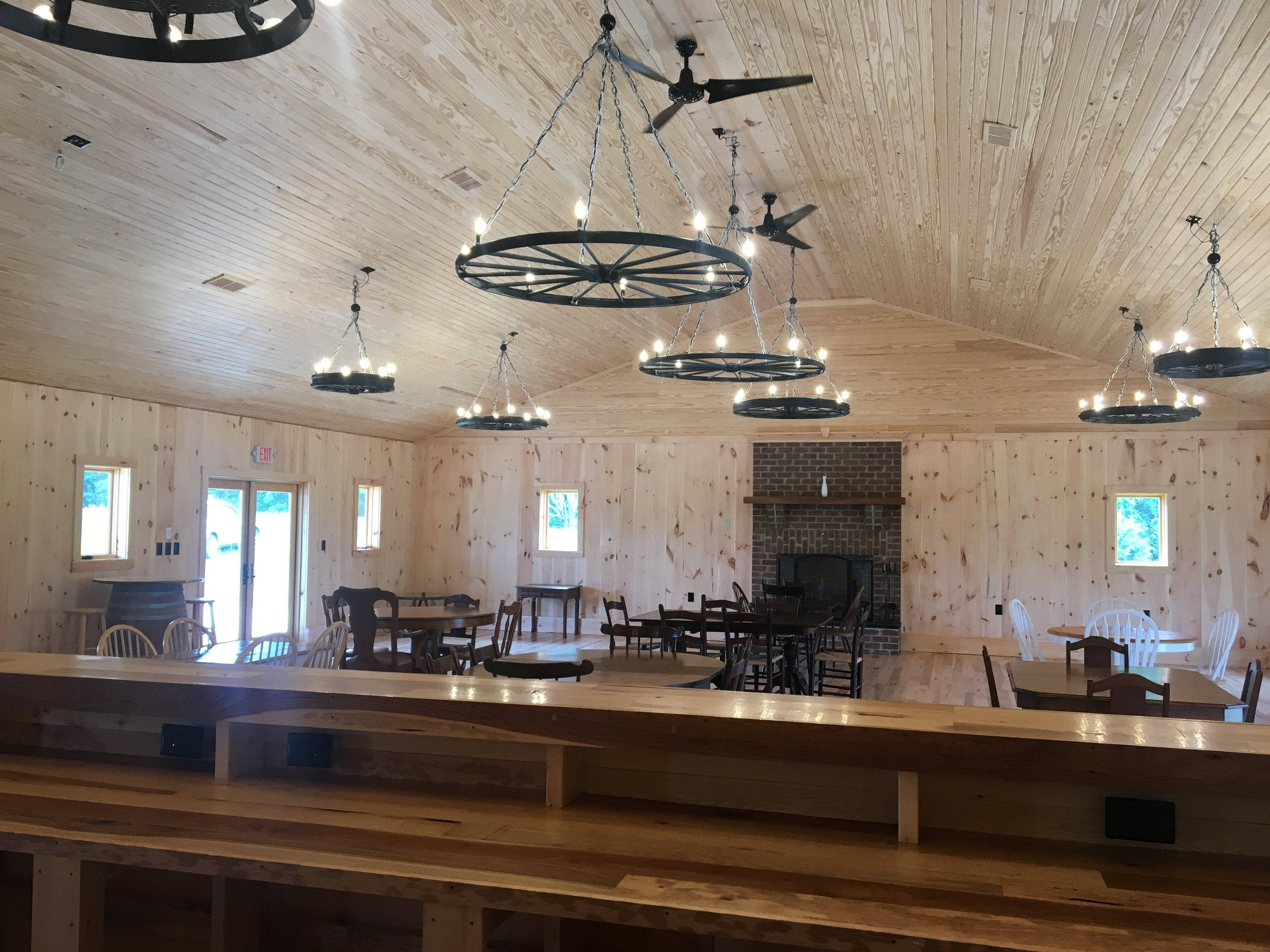 - If you're hosting an event, search no farther for the most scenic event setting in Madison County. From weddings to corporate retreats Blue Quartz Winery is a magnificent location for your next event. Contact us and we will customize our services to make your event unforgettable.