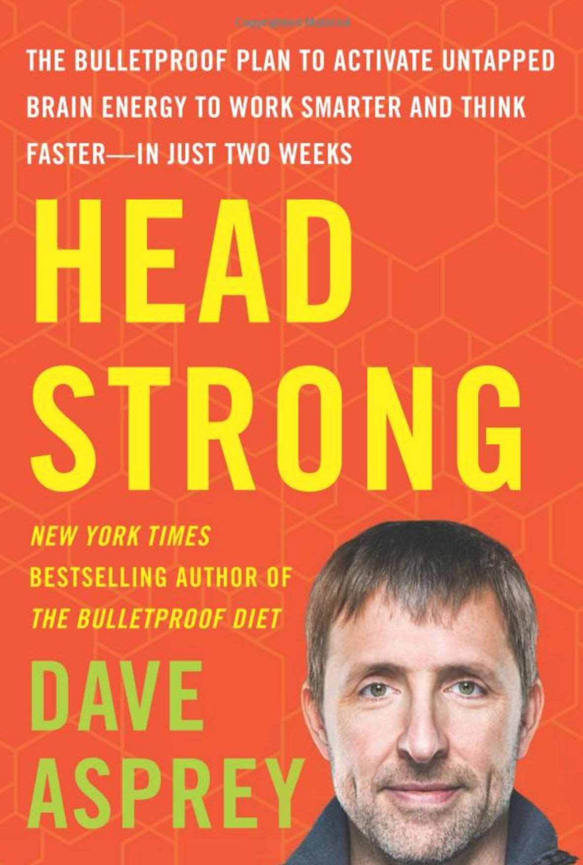 "Head Strong by Dave Asprey (Creator of Bulletproof Coffee) - Markus: This was a very good book, I really liked reading this book. Fifth grade book report joking aside – this is the most important book I've read in the last few years. The premise is that brain fog, fatigue, and the ""afternoon slump"" are not normal – and that instead they're warning signs from the brain that it isn't getting what it needs. Dave argues that there are many ways we're shooting ourselves in the proverbial foot when it comes to energy, focus, and overall wellness and ease in our bodies – most of which have pretty easy fixes with exponential results. Forget fad diets and ""weird tricks"", everything in the book is based on documented, repeatable research. Dave doesn't present any rules or preach – he just offers what he's learned so you can try and see what works for you. But don't take MY word for it!"