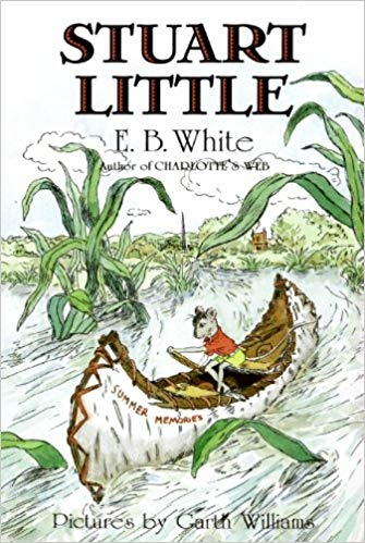 Stuart Little by E.B. White - Stuart as a person/mouse is just o.k. in my book, but I am here for the beautiful language and other redeeming characters. We enjoyed listening to this over the course of a week running errands. The chapters are short, it is easy to start and stop and the narration is very soothing and beautiful - bringing a nice calm to the car after a boisterous day at camp or the pool. Our daughter requested it every time we started the car when listening for the first time and has asked us to repeat it since.
