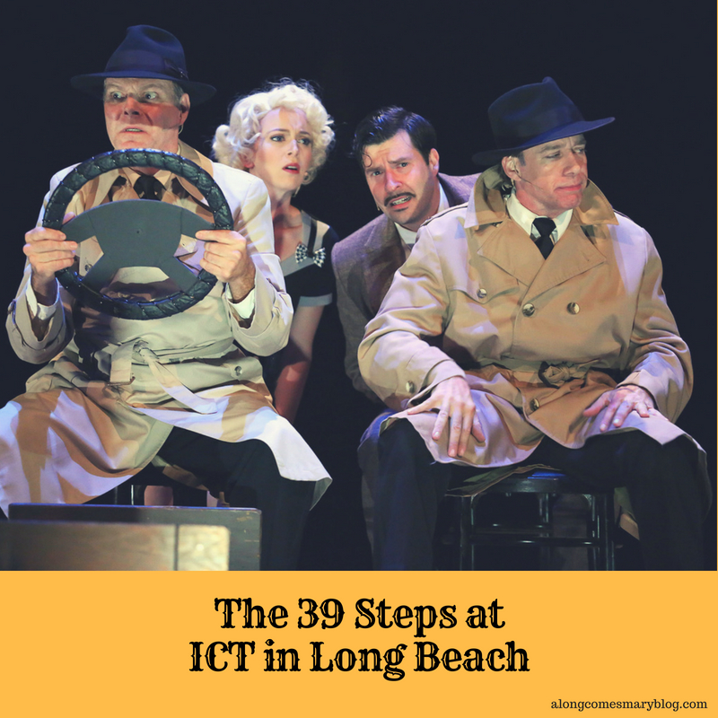 THE 39 STEPS at ICT