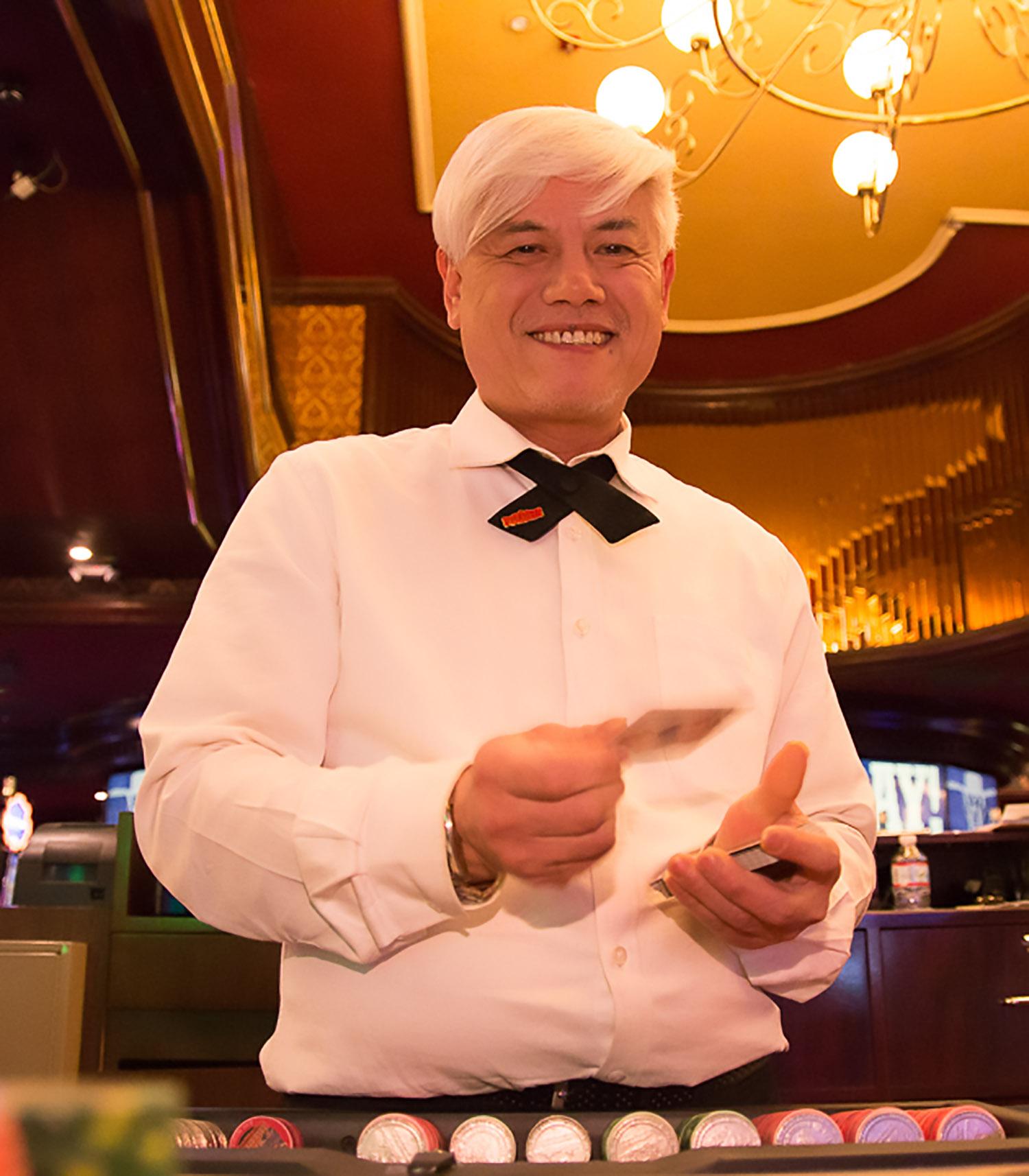 Prefer live Blackjack? We've got you covered! We also offer live Roulette!