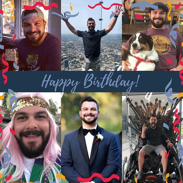 Happy Birthday to my amazing hubby! I am so grateful to have you by my side through life's adventures and challenges. You brighten every day, make me feel incredibly loved, and you are the best doggy dad ever. I hope this is your best year yet! Cheers to 31, Pookie Bear! 🎉🍻🎂