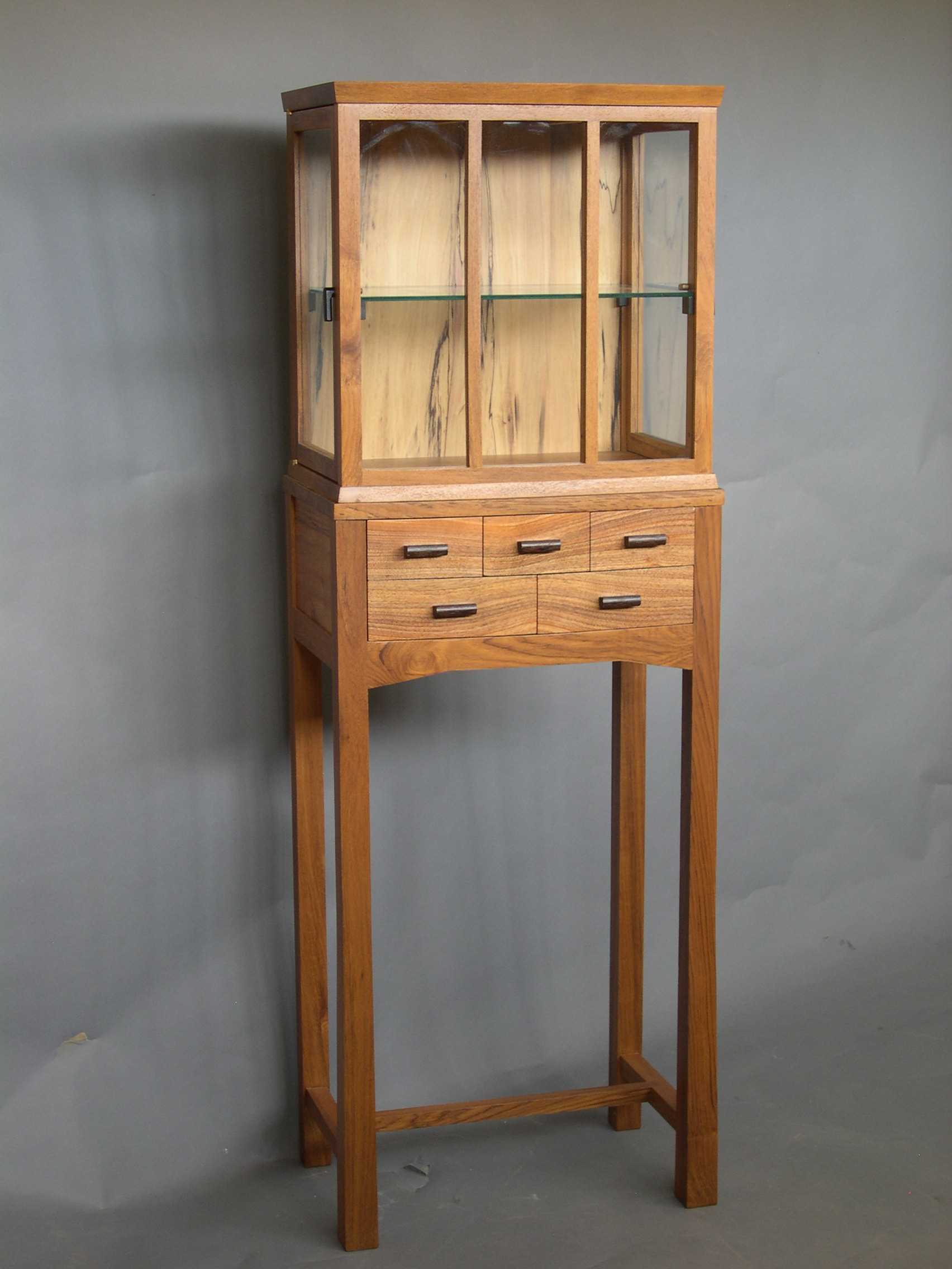 cabinet on stand -