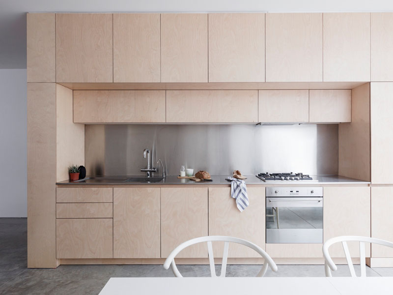 plywood kitchen by Larissa Johnston Architects UK photography by Rory Gardiner.jpg