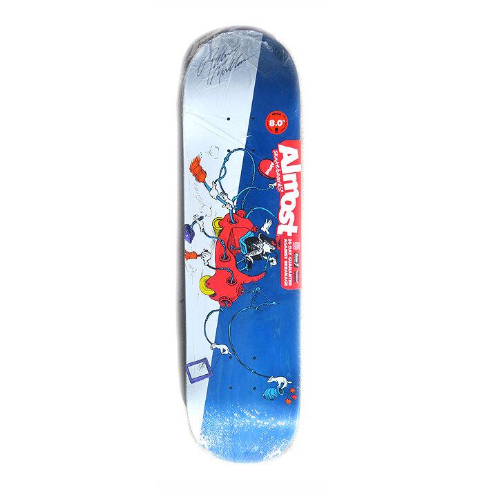 rodney mullen skate board sk8 skating new Almost Dough Skateboard Sticker