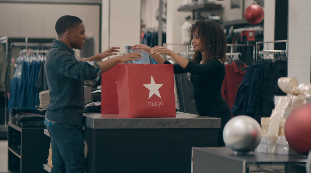 Screenshot: Macy's  The Wrong Size
