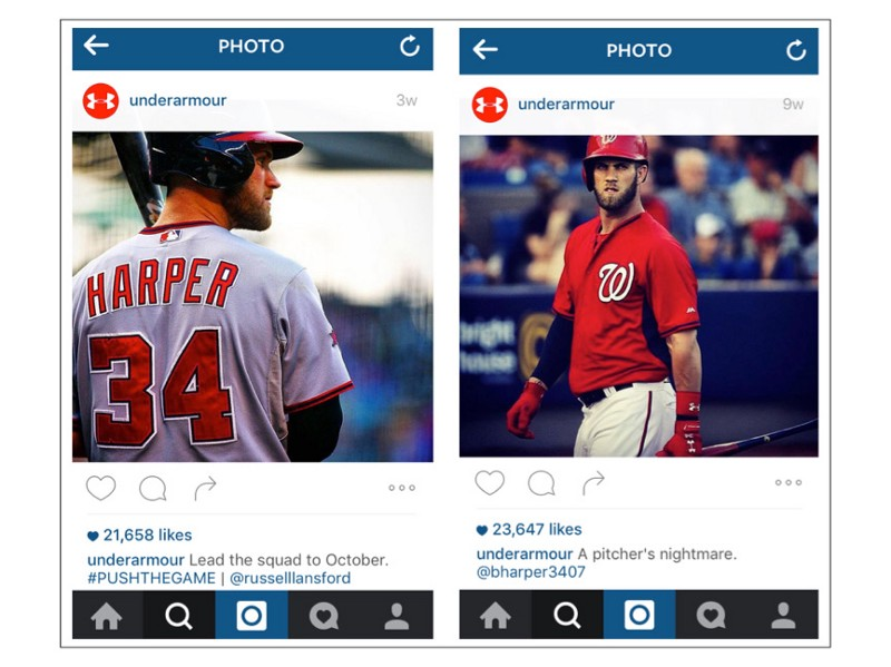 Hashtag mix up: Push the game, not your teammate. Caption confusion:    Opposing    pitcher's nightmare