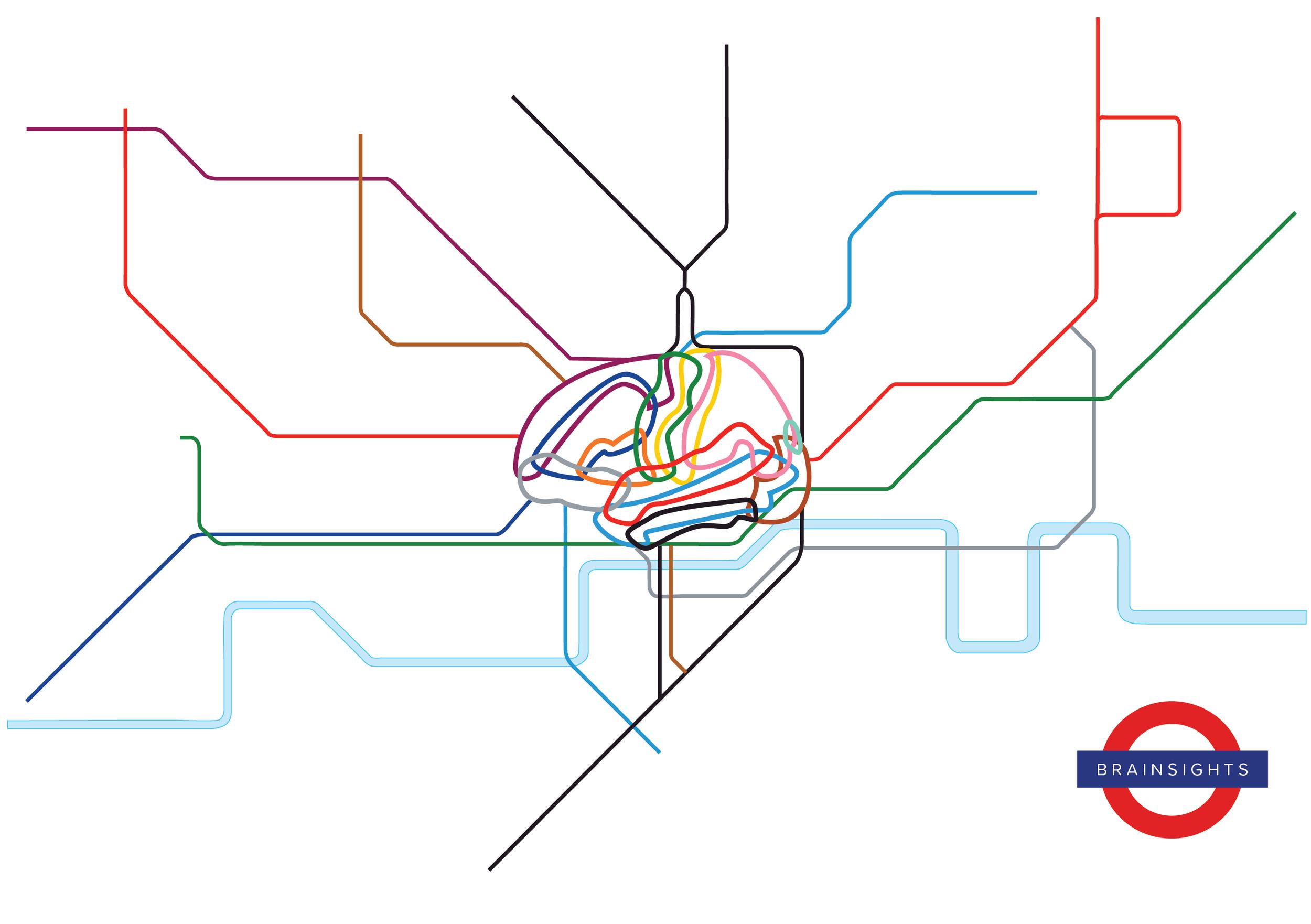 Brainsights London Tube Map, February 2017