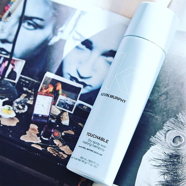 """Coming soon!!! 🚨New product alert 🚨 """"No more struggling to get that perfectly undone look! With TOUCHABLE from KEVIN.MURPHY, it's effortless — you'll have irresistible hair all day long."""" Who's excited 🙋🏻♀️🙋🏼♀️"""