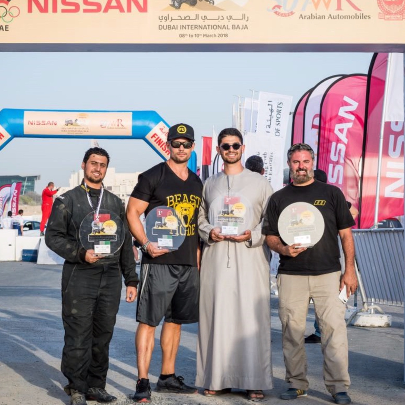 ANDREAS BORGMANN - Dubai Baja, 1st PLace International Class