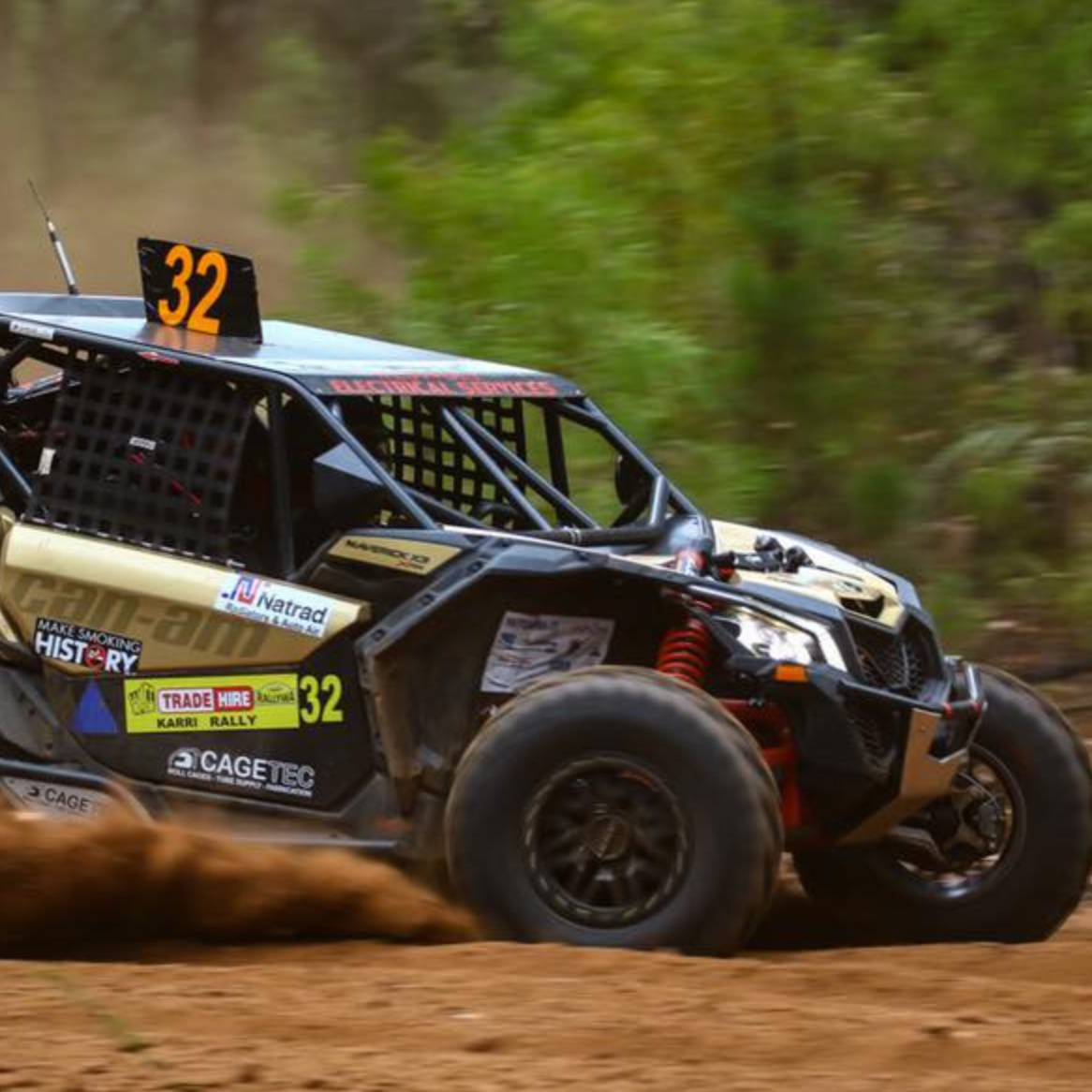 CHRIS UNSTEAD - Westvolt Offroad Racing, Western Australia