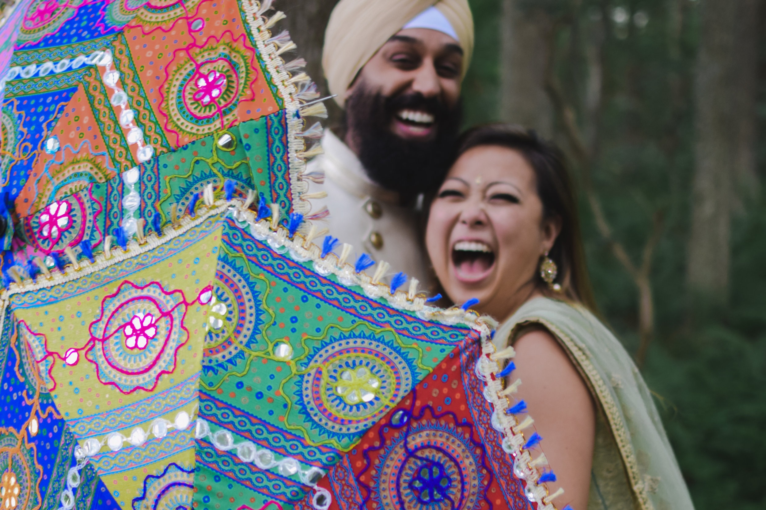 // Mimi + Raj's Sangeet // - What an HONOR! I had so much fun photographing this gorgeous, colorful, exciting sangeet. Loved every minute of it. This is probably the cutest couple around as well 💚 They made each other laugh and giggle all night long. It was an honor to document this special night 😍Album is still in editing — Photo links to sneak peek on facebook