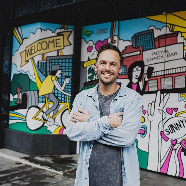 Last week we had the pleasure of working with New Zealand artist Allan Wrath ( @allan.wrath ) for King Street Brisbane ( @kingstreetbrisbane ) and LENDLEASE ( @lendlease ). Allan was briefed to design and hand paint an interactive 30 metre artwork giving viewers a fun and illustrative interpretation of the vibrant King Street precinct.  Allan was joined on project by artist Lee Spendlove ( @leespend.love ) and media whiz kid Billy Zammit ( @billyzammit ) to help bring this wonderful project to life.  Thanks for the fun times and amazing work legends.  Final photos coming soon 👌🏼 Curated and produced by Authority Creative ( @authoritycreative ) for LENDLEASE.