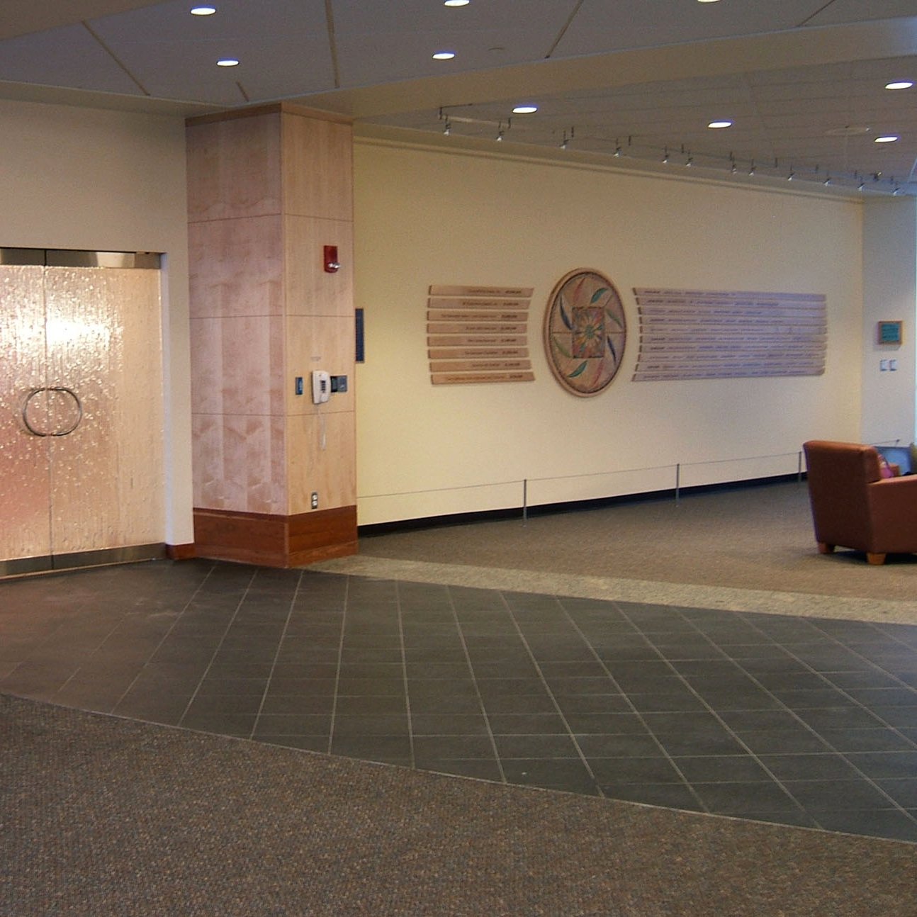 Donor Wall - Providence Cancer Center, Anchorage, Alaska