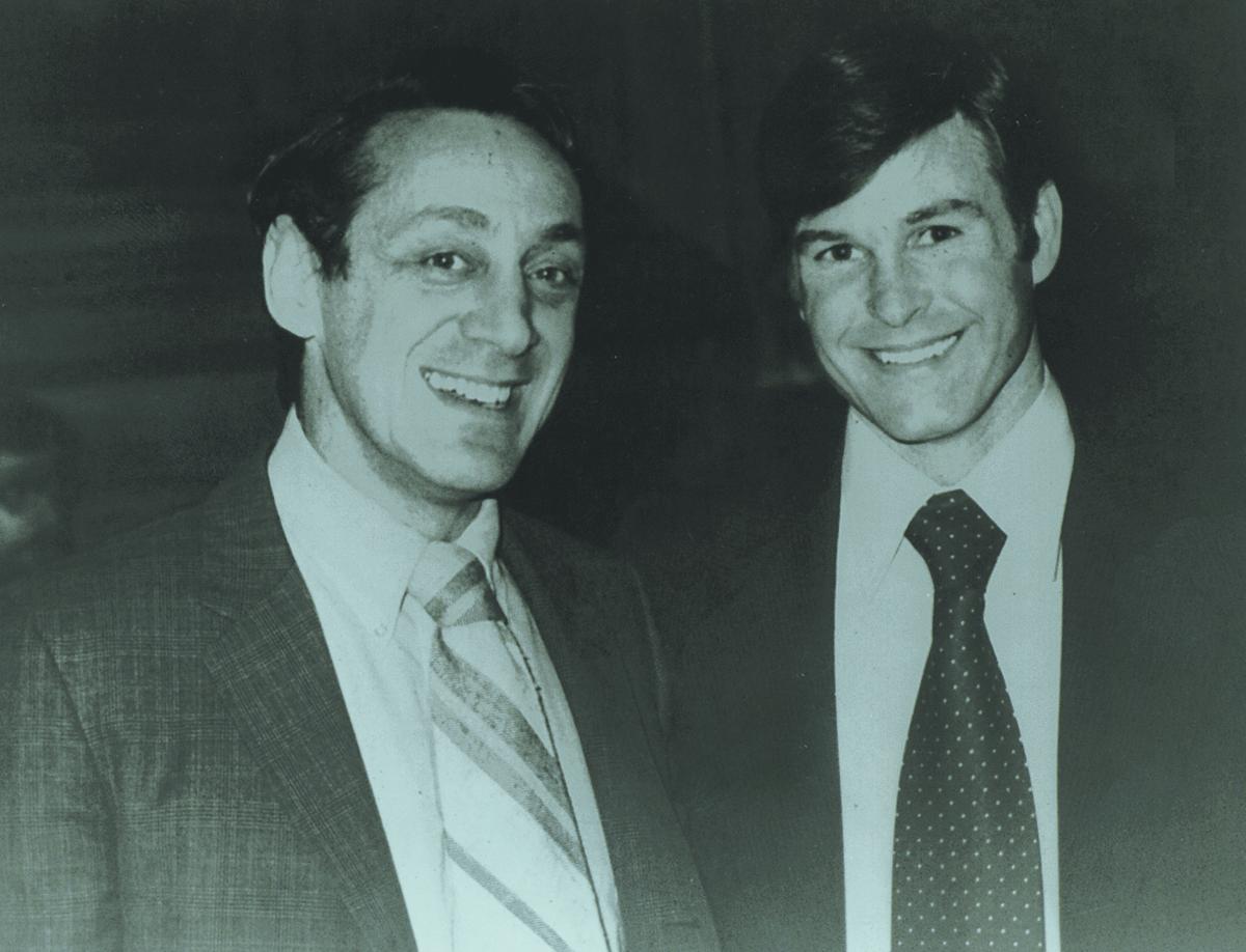 Harvey Milk (left) Dan White (right)