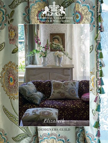 eLIZABETH - A walk through a palace is always inspiring, but this collection in particular honours the depth of design beyond first impressions.