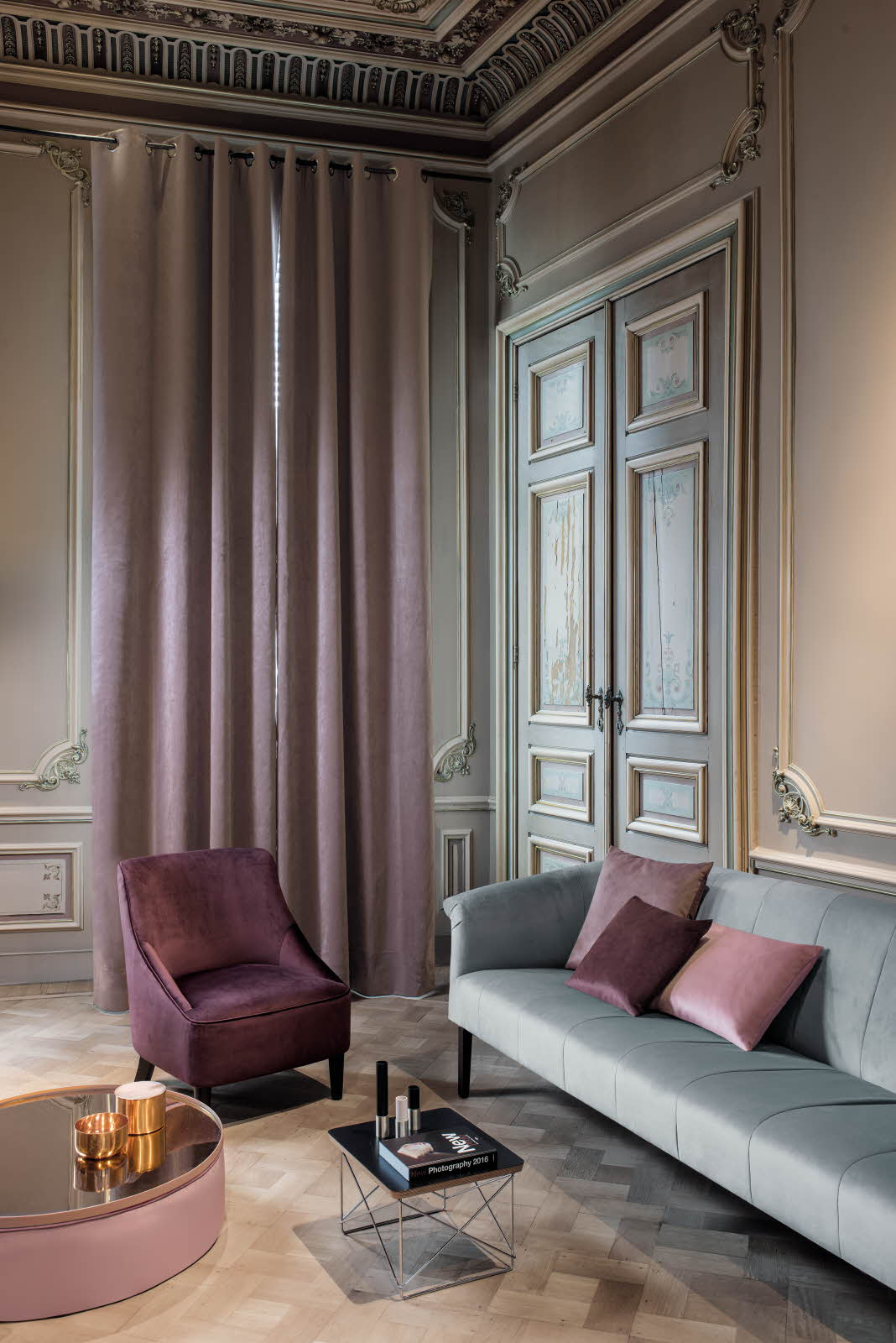 the saddle collection - Available in 40 colours, perfect for curtains ad upholstery.