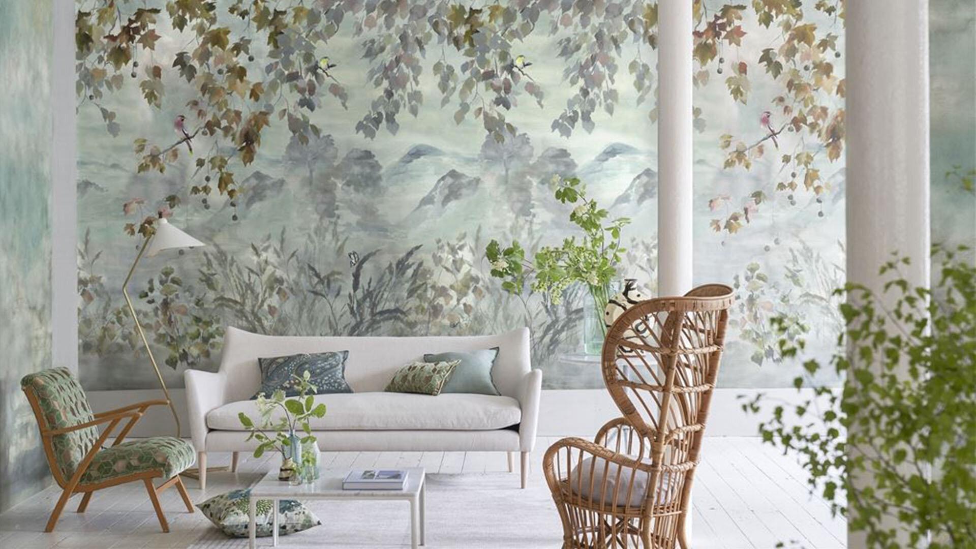 Designers Guild Scenes and Murals Wallpaper