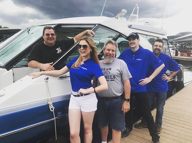 Our team is having a blast working with @mercuryracing! #mercuryracing #mercury #racing #speed #power #performance #fastboats #cruisinwithkendra