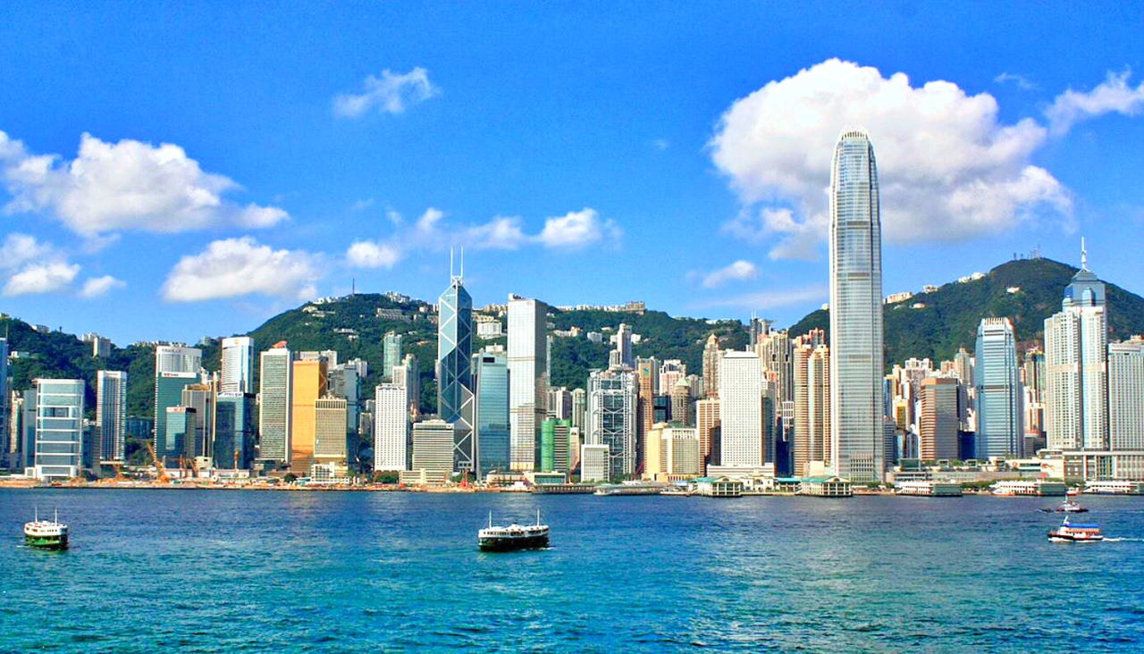 A view on a Hong Kong City Tour