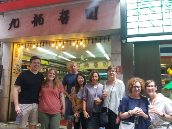 Beautiful smiles from our happy guests on our small group Hong Kong food tour with the new Soy Sauce added stop in the background.   #instafood #travel #traveloften #wanderlust #discoverhongkong #food #instagood #happy #getinmybelly #eathongkong #bbctravel #foodie #foodadventure #hongkong #china #hk #instatravel #adventure #welltraveled #tourism #travelbug #lonelyplanet #travelstoke #hellohongkongtours #hongkongtour #hkfoodie #foodtour #privatetour #personaltour #personalguide #hkstreetfood #hklocalfood #noleftovers #vacation #instaphoto #best_earthscape #instamoment #stayandwander #thisweekoninstagram #instatravel #earth_shotz #travelinspiration #travelchina #like4like #follow4follow #instalike