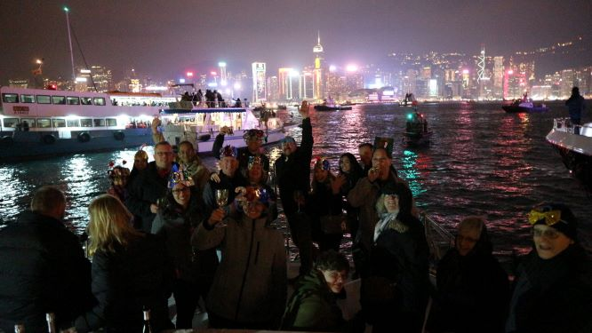 Enjoy New year in Hong Kong with Hello Hong Kong Tours