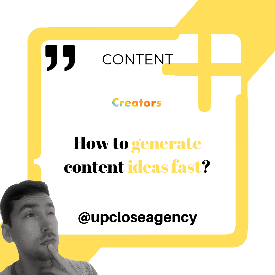 How long does it take you to generate content ideas in 2019? - Orange County, CA