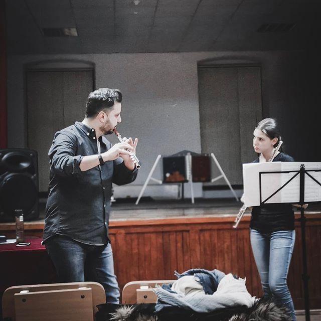 Flute Masterclass in Transylvania, day 1!